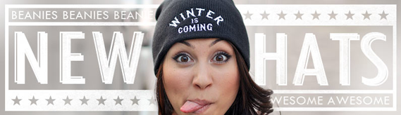 Beanies are here!