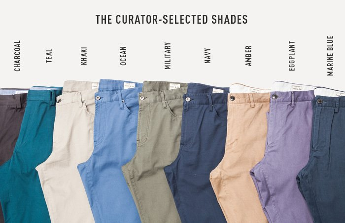 The Curator-Selected Shades