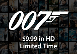 007 - $9.99 in HD - Limited Time