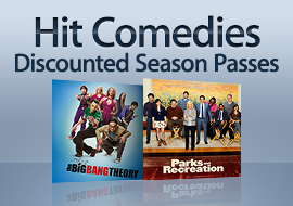 Hit Comedies - Discounted Season Passes + More