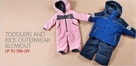 Toddlers and Kids Outerwear