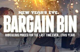 Bargain Bin: New Year's Eve Edition