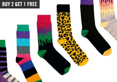 Shop Funky New Patterns for Your Feet