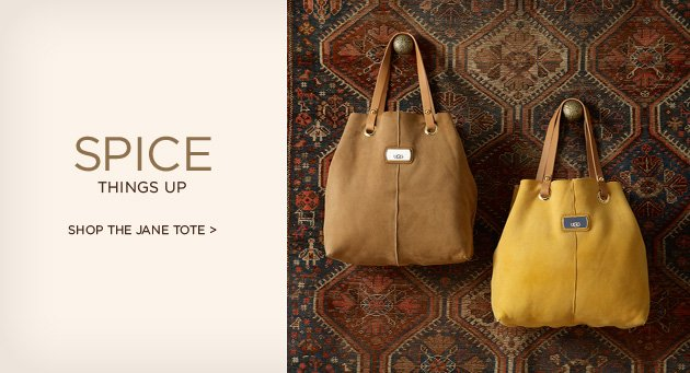 Spice things up - Shop the Jane Tote >