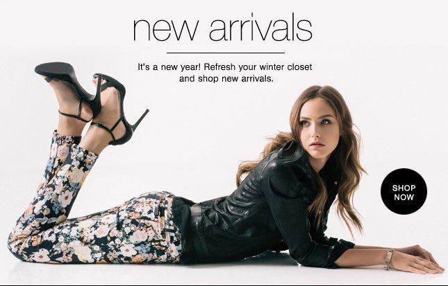 New Arrivals, New Year!