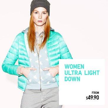 WOMEN ULTRA LIGHT DOWN