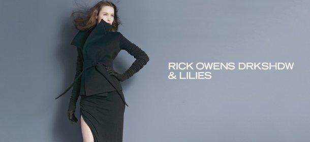 RICK OWENS DRKSHDW & LILIES, Event Ends January 7, 9:00 AM PT >