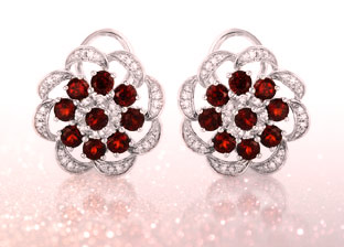 January Birthstone: Garnet Jewelry