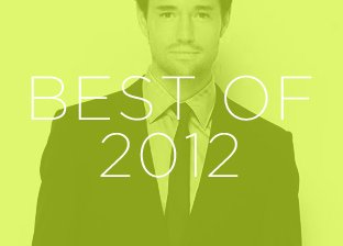 Best of 2012: Men's Apparel