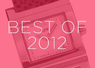 Best of 2012: Designer Watches