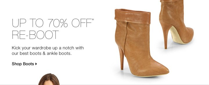 Up To 70% Off* Re-Boot