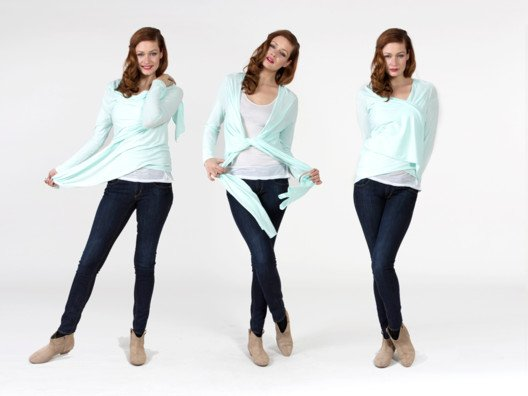It's a shrug, it's a cardigan, it's a top....it's everything! And it's back in new spring colors!
