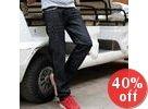 Crinkled Jeans