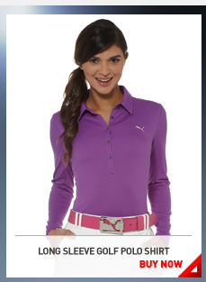 LONG SLEEVE GOLF POLO SHIRT