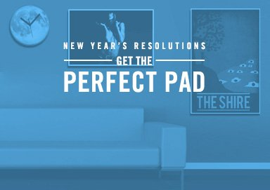 Shop Get the Perfect Pad: Home Decor