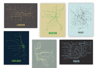 Shop Line Posters: Rep Your City & More