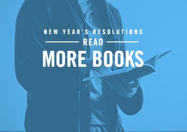 Shop Resolution: Read More Books