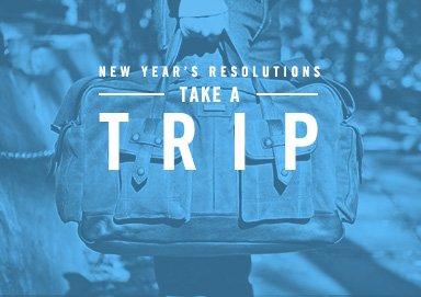 Shop Resolution: Take a Trip
