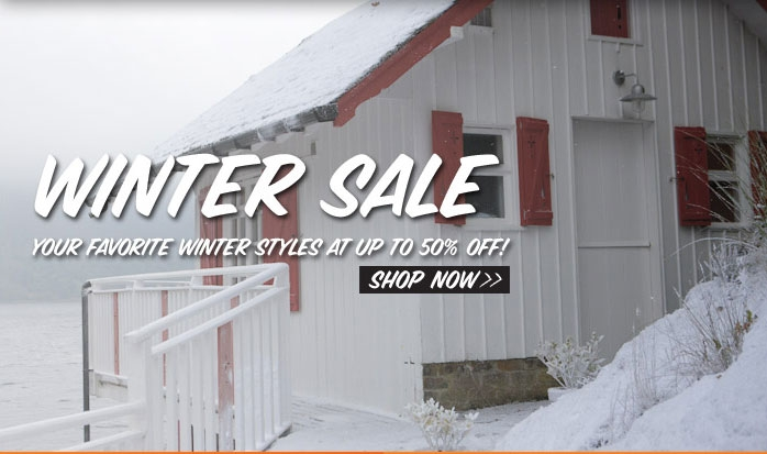 Winter Sale Your Favorite Winter Styles at up to 50% off! Shop Now