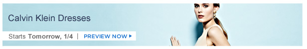 Calvin Klein Dresses is on HauteLook tomorrow 1/4