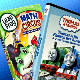 Learning With Friends: Kids' DVDs