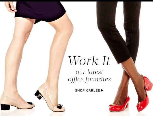 Work It - Our latest office favorites.