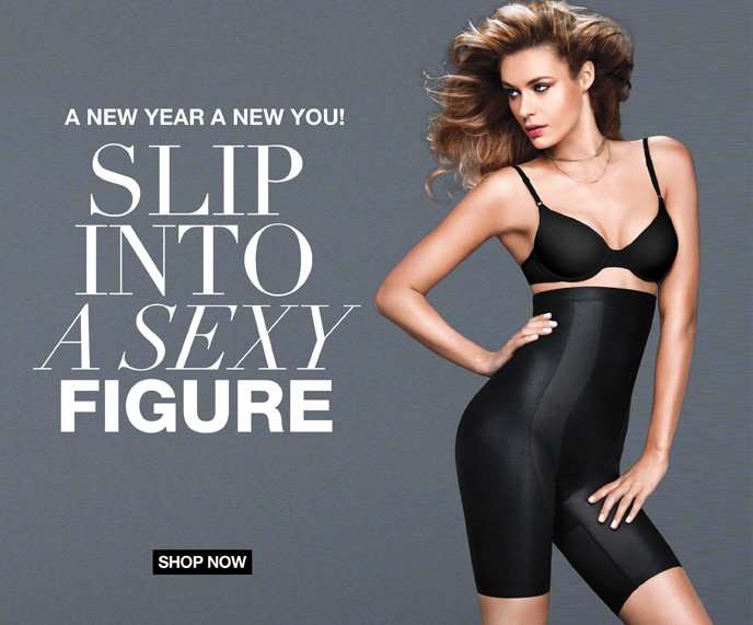 A New Year A New You! Slip Into a Sexy Figure