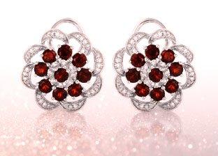 January Birthstone: Garnet Jewelry
