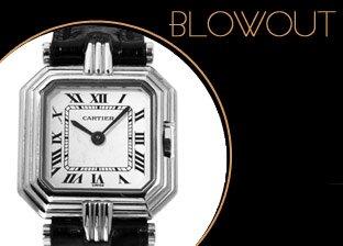 Luxury Jewelry & Watches Blowout