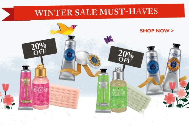 Winter Sale Must-Haves Hurry! Final Weekend!