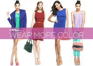 I Will... Wear More Color