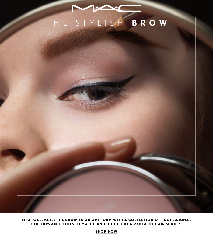 M·A·C elevates the brow to an art form with a collection of professional colours and tools to match and highlight a range of hair shades.  SHOP NOW