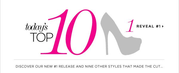 The List of Our Top 10 New Releases Is Here! Shop It