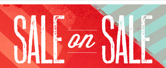 Shop Sale on Sale