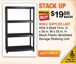 HDX Shelving Unit