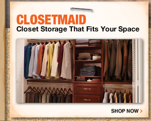 ClosetMaid Closet Storage