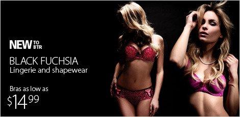 Black Fuchsia Lingerie and Shapewear
