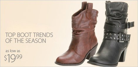 Top Boot Trends of the season