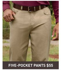 Harbor Bay® Five-Pocket Continuous Comfort™ Pants
