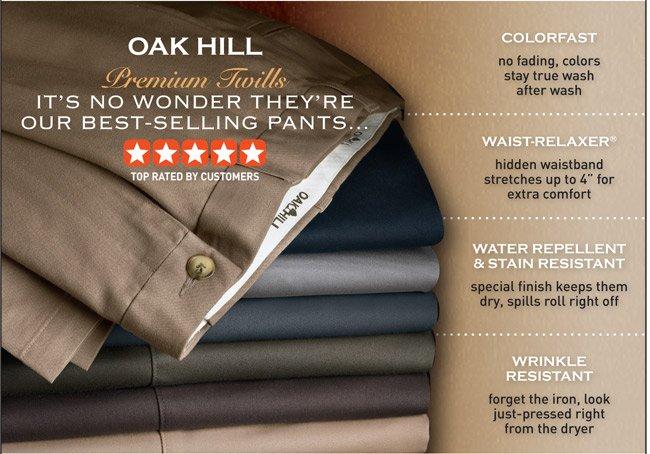 Oak Hill® Waist-Relaxer® Premium Pants