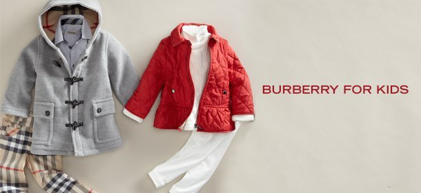 BURBERRY FOR KIDS, Event Ends January 8, 9:00 AM PT >