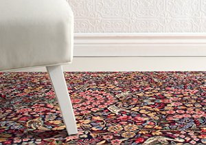 One of a Kind Antique Kirman Rugs