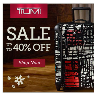 TUMI Sale Up to 40% Off