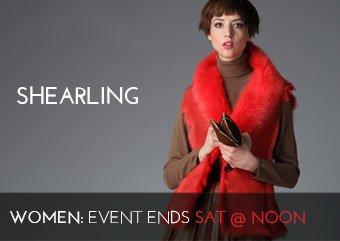 Shearling - Women