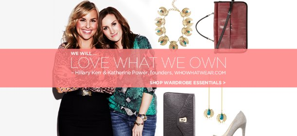 WHOWHATWEAR'S WARDROBE ESSENTIALS, Event Ends January 8, 9:00 AM PT >