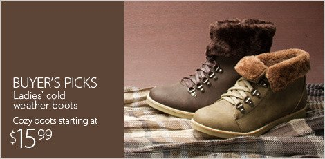 Buyer's picks-cold weather boots