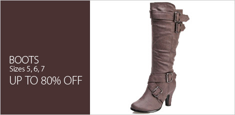 Boots - Sizes 5,6,7