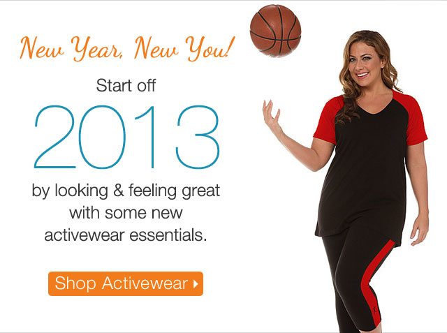 New Year, New You! Start off 2013 by looking and feeling great.