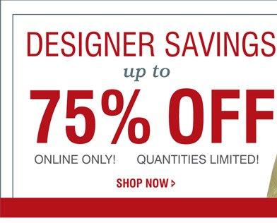 Shop All Designer Clearance