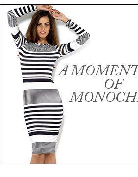 Long Sleeve Midi Stripe Dress